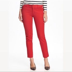 Old Navy Red Pixie Pants 125